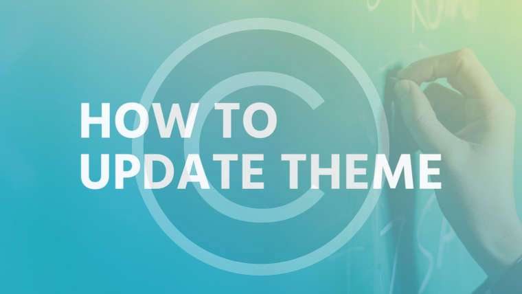How to update theme